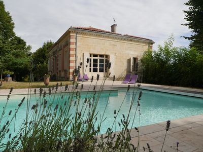 Photo for BORDEAUX near Mansion combines tranquility, charm and refinement.