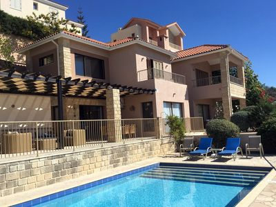 Photo for 3 Bedroom Villa with Private Pool, Spectacular Sea Views from all rooms