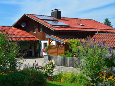 Photo for Quiet, comfortable apartment, large flower garden in Gotteszell / Bayerwald
