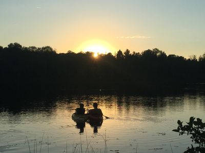 Photo for 2BR Cottage Vacation Rental in Millersburg, Michigan