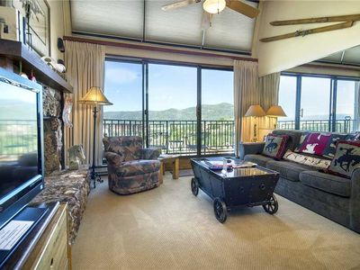 Photo for BT601 by Mountain Resorts: Top-floor *MTN views* Pool & Hot Tub + Easy Access to Summer Events