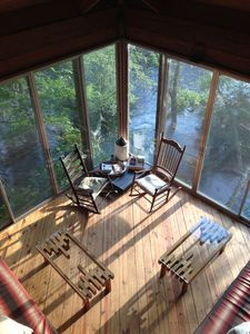 All Glass River House Overlooking Edisto River