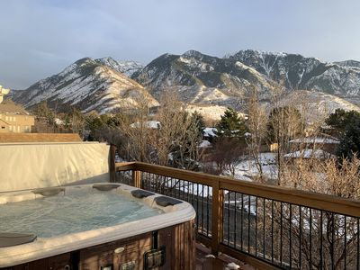 Photo for Mountain Ski House at the base of Little Cottonwood Canyon