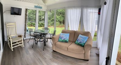 Relax in this beautiful sunroom
