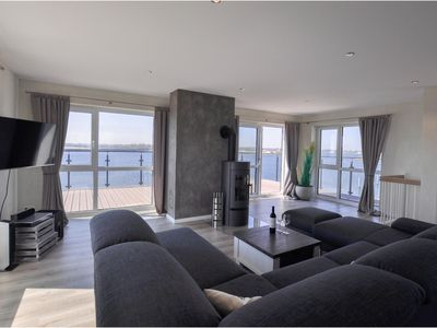 Photo for Modern apartment with penthouse, large sun terrace and panoramic views