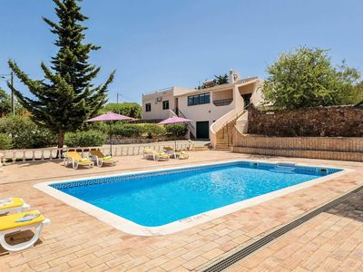 Photo for 4 bedroom Villa, sleeps 7 in Porches with Pool, Air Con and WiFi