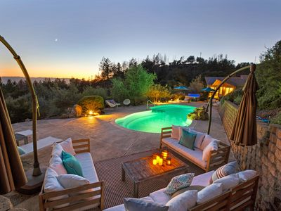 Photo for Your Wine Country Mountainside Home