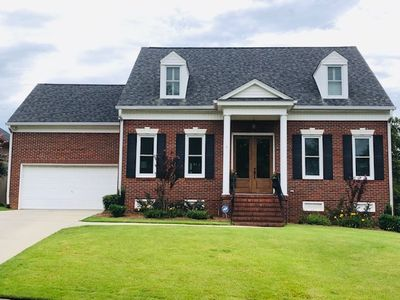 Photo for Classical Cape Cod style brick home - Only Available  4/4-4/12 Masters week.