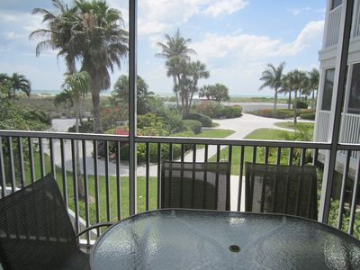 Photo for Unobstructed View of the Gulf with Beachside steps on beach resort.   A3311A
