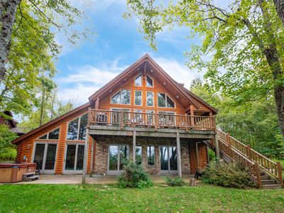 Photo for DOGS WELCOME! Ski Area Home w/Lake Access, Private Indoor Pool, & Dock Slip!