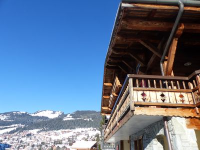 Photo for Chalet 20 pers center of Châtel / Jacuzzi and Sauna