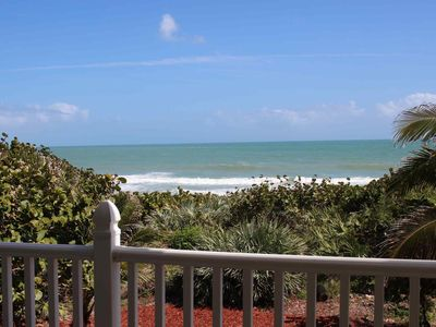Photo for The Turtle Spot Oceanfront Home on a Private Beach with stunning views from several balconies