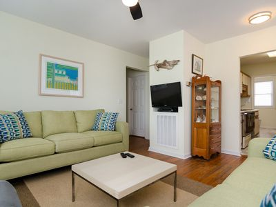 Photo for Cozy unit at the south end with sound and ocean views