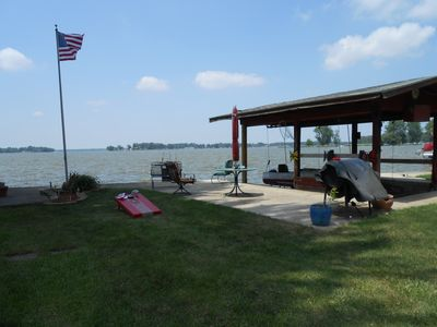 Dock and patio