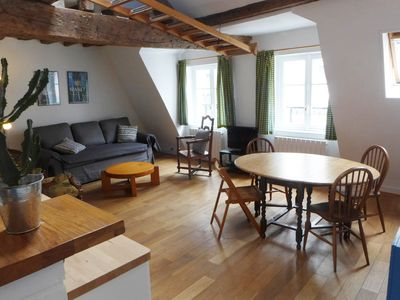 Photo for Wooden Beams & Charm - up to 6 Guests - View on Paris Roofs