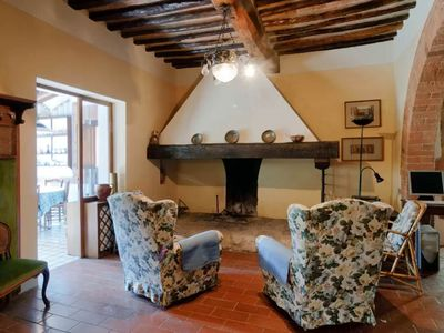 Photo for Apartment Il Casale, situated in Montepulciano, Tuscany, with 2 bedrooms, it can host 4 people.