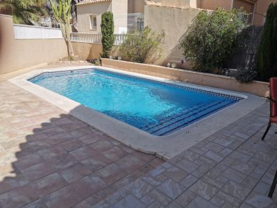 Photo for Beautiful detached house with private pool