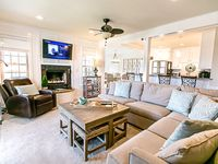 We found the home warm, inviting and tastefully decorated.