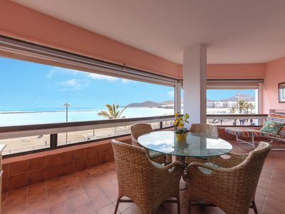 Photo for SEAFRONT LAS CANTERAS BEACH 24
