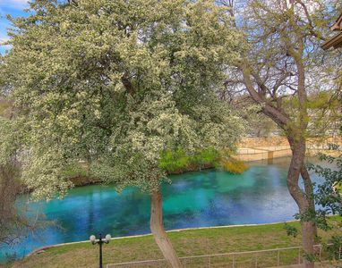 Fabulous views of the Comal River! Direct access, walk to downtown!