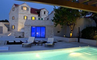 Photo for Deluxe Villa Komelo- Stone House In Skrip The Oldest Village On The Island Brac