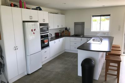 The Kitchen is very well appointed with every appliance you might need