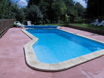 Photo for Gite in Perigord 9 Places 140 m2 with private pool of 4 X 10