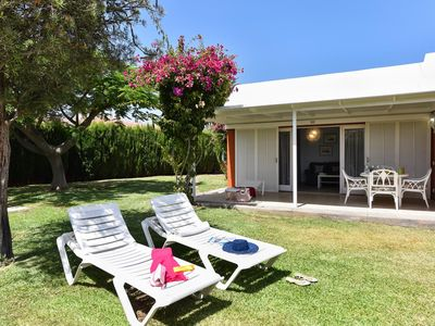 Photo for Bungalow Melocoton 2 apartment in Maspalomas with WiFi, air conditioning, private terrace & private…