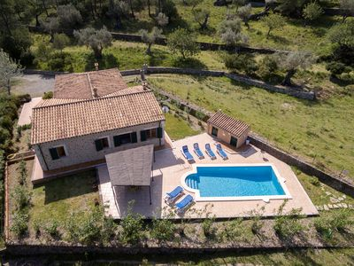 Photo for Finca Colonya is a secluded three bedroom villa, with two bathrooms and a private pool nestled in th