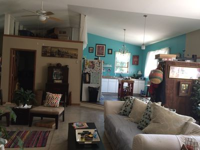 Photo for Cozy & eclectic bungalow 20 minutes from Starved Rock & Matthiessen Park
