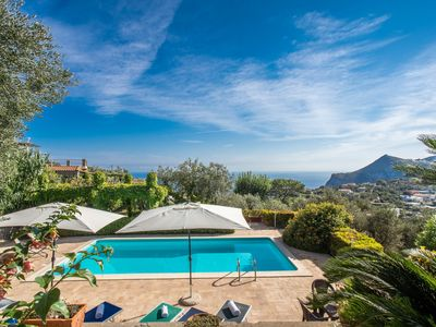 Photo for Villa Due Golfi. Villa with Pool and Stunning Sea views