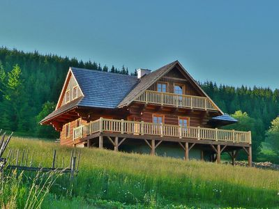 Photo for Romantic mountain chalet