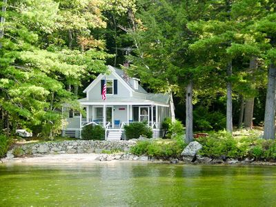 Photo for Pitchwood Island Waterfront accessible by boat is perfect lake hideaway
