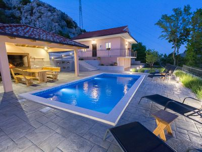 Photo for Villa With Pool, Peaceful Oaza United With Nature Near Split