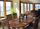 Dining Room. Water views across the front of the house.