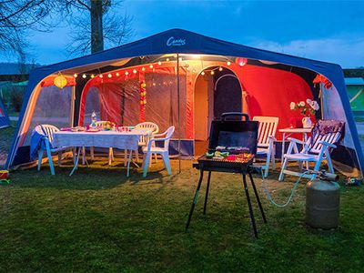 Photo for Camping le Châtelet ***** - Tent 3 rooms 5 people Without Sanitary