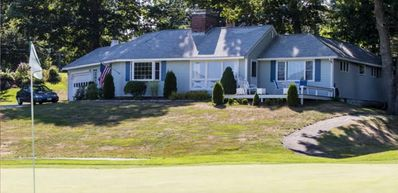 """""""Cottage on the Green"""". Located on the golf course and walk to the beach!!"""