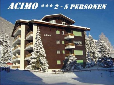 Photo for Apartment Acimo  in Saas - Fee, Valais - 3 persons, 1 bedroom