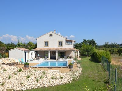 Photo for Mas in the countryside with garden and swimming pool