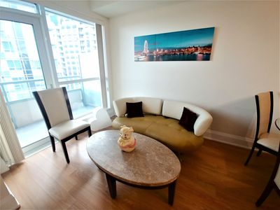 Photo for A1 Condo+Parking/10 min walk to Subway/ Yonge &401