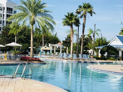 Photo for The Fountains Resort - Massive Pool!  Best Location for Disney & SeaWorld