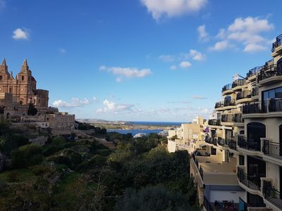 Photo for Mellieha Sea View Apartment (with on site parking)