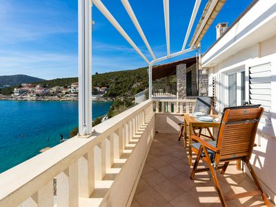 Photo for Amazing 1-bedroom SEASIDE apartment, 25 minutes from Split Airport !Apt.No5