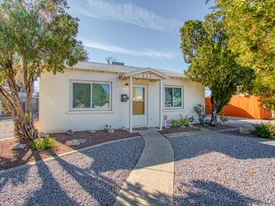 Photo for Adorable & Cozy Home Across from Pool & Park; Walk to Downtown Hotspots