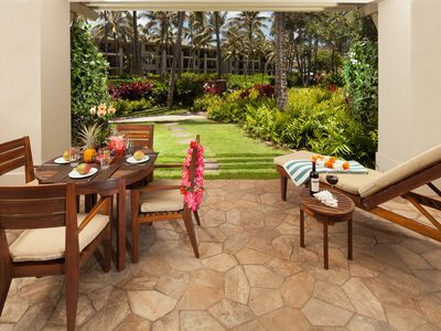Photo for SPRING RATES ARE REDUCED! Ocean & Garden View Beach Level 3-Bed Villa 115