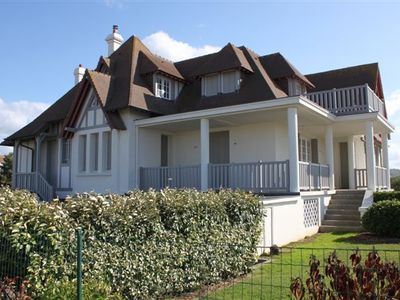 Photo for Close to Les Planches, Namouna Villa in Deauville offers a nice view of the sea