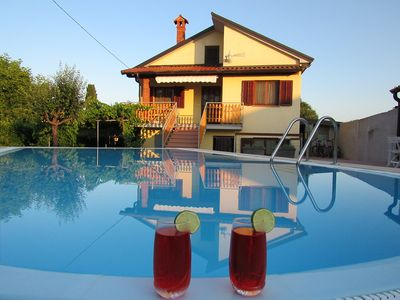 Photo for Holiday House with Private Pool in village Sveti Kirin, Istria