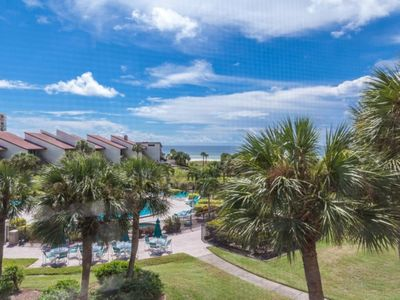 Photo for NEW LISTING! Traditional Unit Overlooking Gulf of Mexico