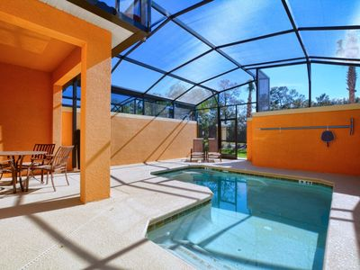 Photo for GATED RESORT COMMUNITY, PRIVATE POOL, FREE WIFI!! CLOSE TO DISNEY!!