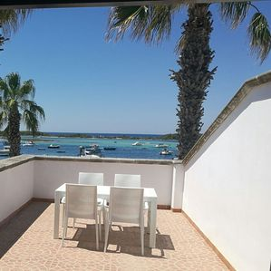 Photo for Holiday home with sea view. Porto Cesareo